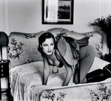 "Helmut Newton, ""Saddle I"" from the series Sleepless Nights, Paris, 1976 ©Helmut Newton Estate"