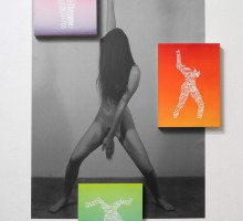 Eddie Peake, Negative Luba, 2012. Courtesy of the artist and Galleria Lorcan O'Neill, Rome.