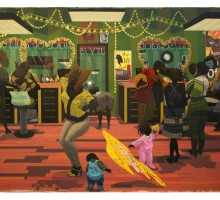 Kerry James Marshall_School of Beauty School of Culture, 2012. Photo by Kerry James Marshall