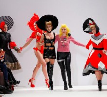 Pam Hogg A/W 2012-13. Courtesy of Pam Hogg