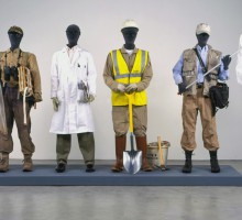 Mark Dion, Costume Bureau, 2006. Mixed media, 188 x 374 x 99 cm. Collection of Museum. Het Domein, Sittard. Photo courtesy of the artist and Tanya Bonakdar Gallery, New York.