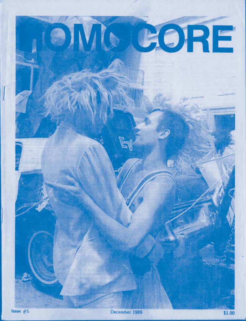 Homocore cover, from Queer Zines