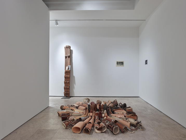 Kader Attia, Show Your Injuries, Installation view, Lehmann Maupin. Courtesy the artist and Lehmann Maupin, New York and Hong Kong
