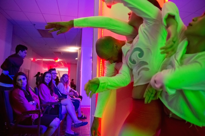 ME?M 4 Miami: A Story Ballet About The Internet By Ryan McNamara . A Performa Commission. Presented by Art Basel Produced by Performa and Art Basel. © Art Basel