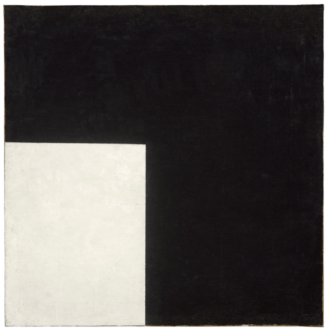 Kazimir Malevich Black and White. Suprematist Composition 1915. Moderna Museet, Stockholm Donation 2004 from Bengt and Jelena Jangfeldt