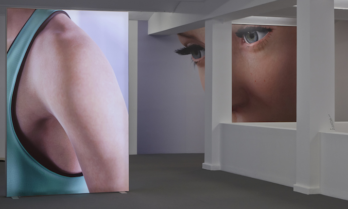 Kate Cooper, RIGGED, 2014. Installation view. Photo: Theo Cook. Courtesy Kate Cooper.