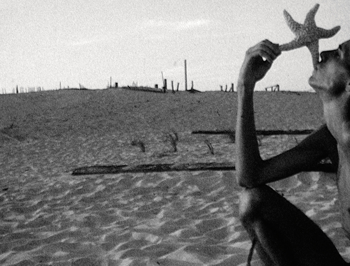 A still from My Very Beautiful Movie (1974), a film that captured Fire Island in New York. All images are © 2014 LUMA Foundation.
