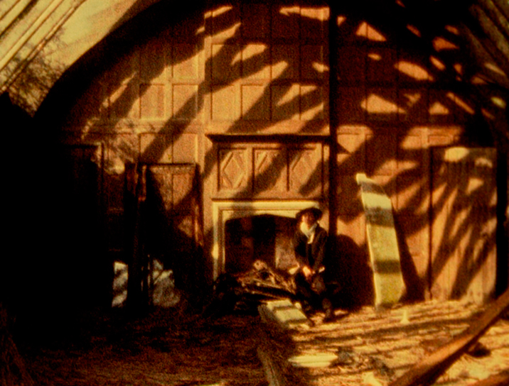 A still from Gerald's Film (1975), an elegiac portrait of Gerald Incandela, filmed among the ruins of a decayed Victorian boathouse in Essex. All images are © 2014 LUMA Foundation.
