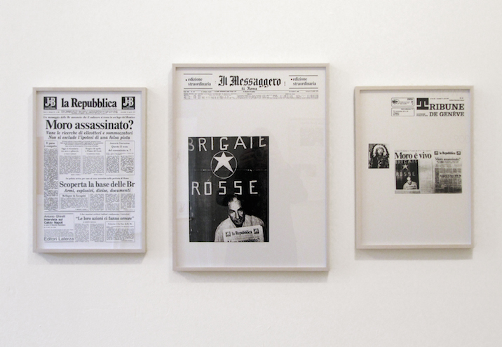 Sarah Charlesworth, April 19, 20, 21, 1978 Installation; Images courtesy of The New Museum