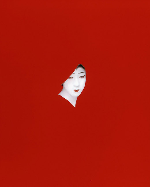 Sarah Charlesworth, Red Mask; Images courtesy of The New Museum