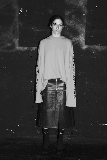 Vetements showroom at PFW. Photography by Elodie Chapuis