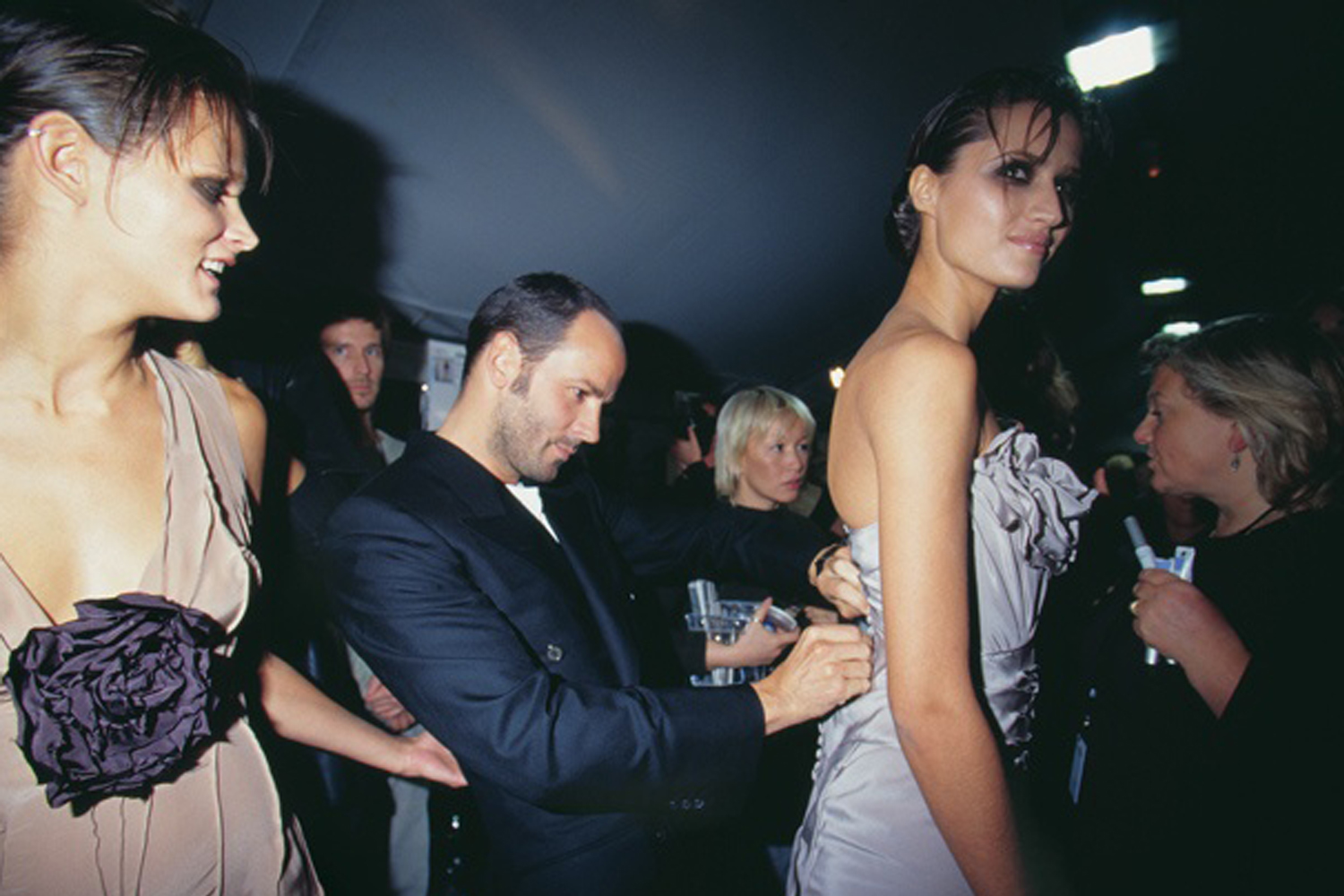 Tom ford, Tom Ford Gucci, Gucci backstage, Backstage photography