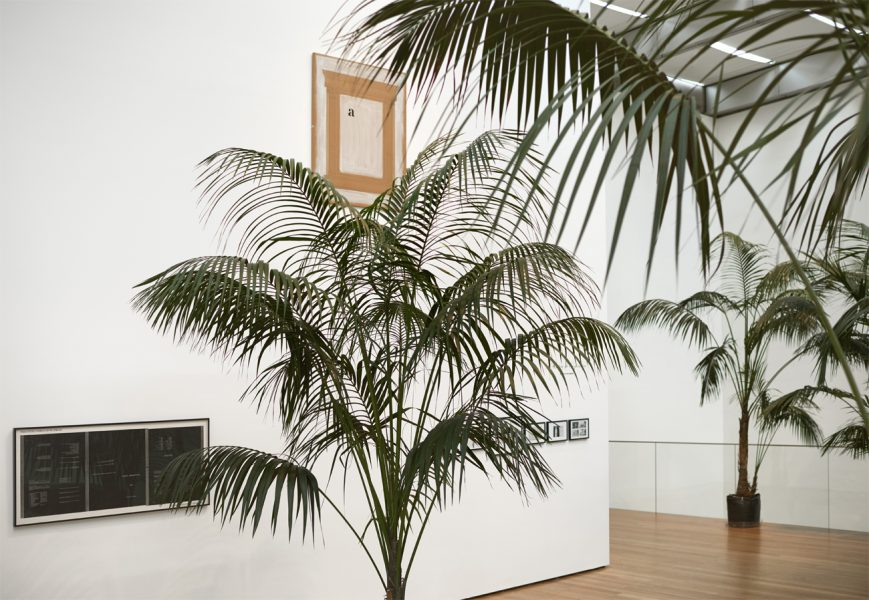 Marcel Broodthaers, Installation View: A Retrospective, The Museum of Modern Art, New York, 2016. Image from The Museum of Modern Art