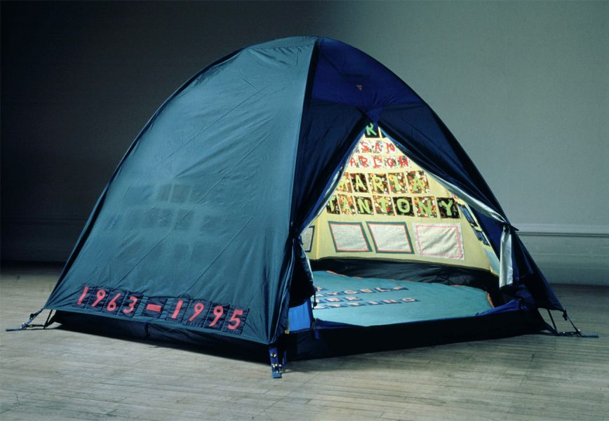 Tracey Emin. Everyone I Have Ever Slept With 1963–1995 (1995). Image from traceyeminstudio.com