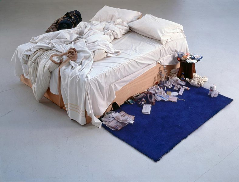Tracey Emin. The Bed, 1998. Image from apollo-magazine.com