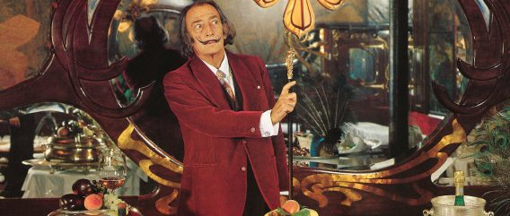 Salvator Dalí. Image from theguardian.com
