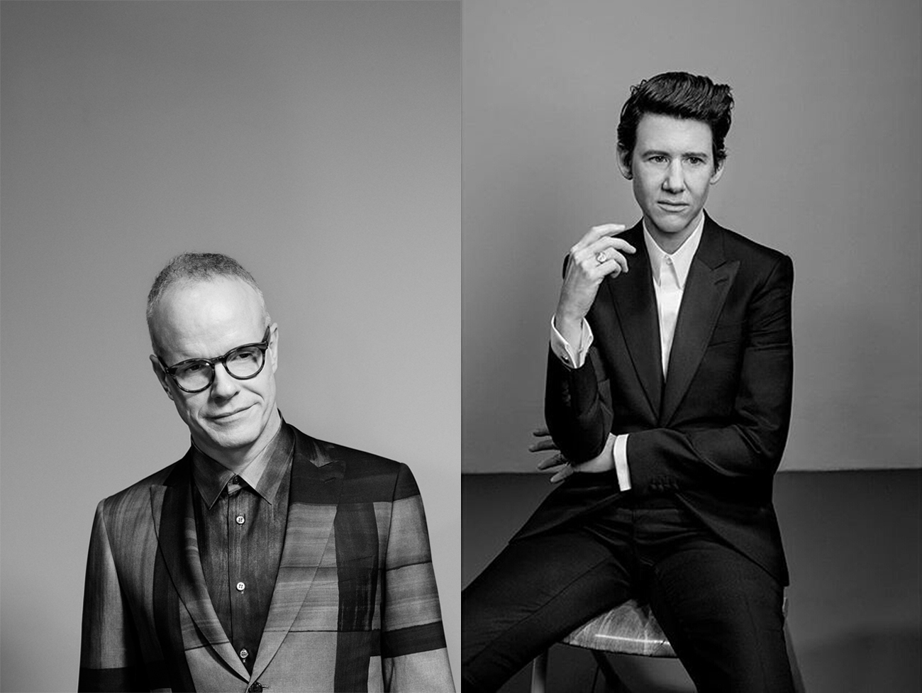 Hans Ulrich Obrist and Collier Schorr x Brioni
