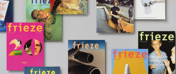frieze, various issues. Courtesy of frieze