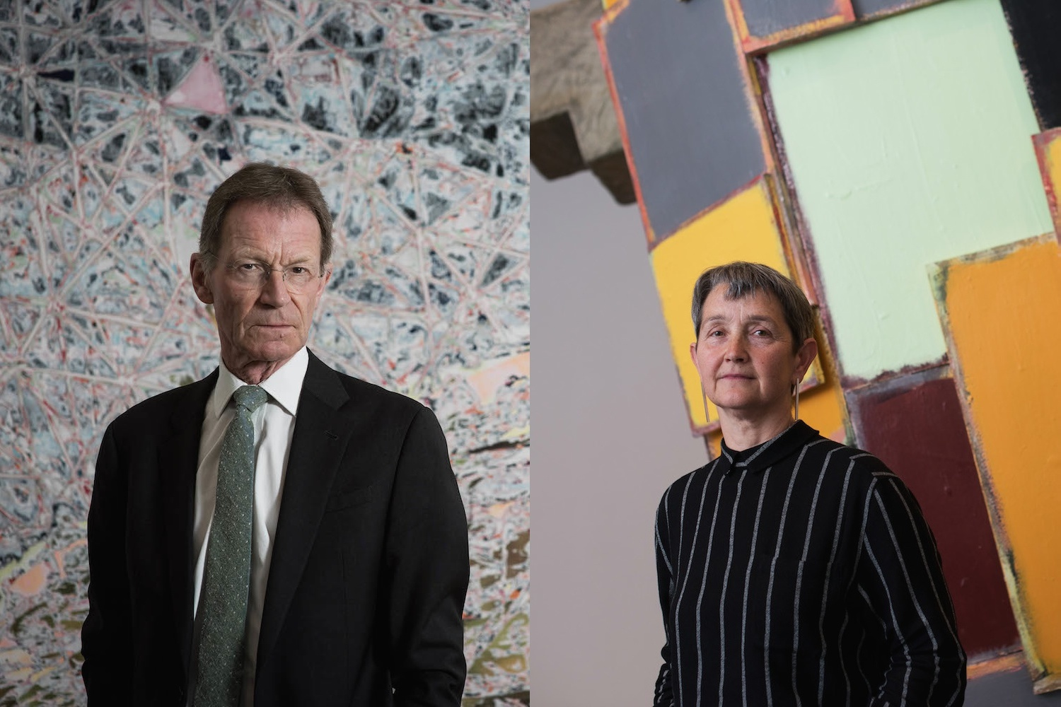 Most powerful people in art: Sir Nicholas Serota and Frances Morris