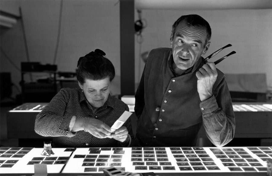 """""""The World of Charles and Ray Eames"""" curated by Catherine Ince"""