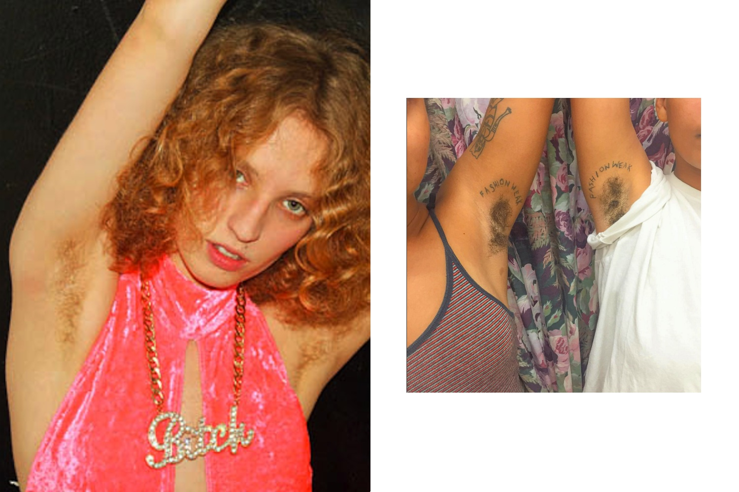 Petra Collins, Armpit hair