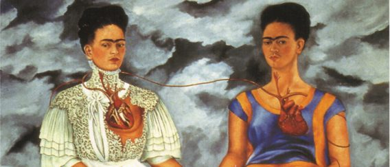 The Two Fridas by Frida Kahlo
