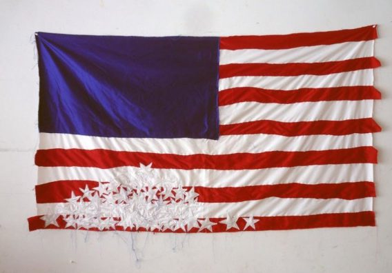 American Flag in contemporary art:
