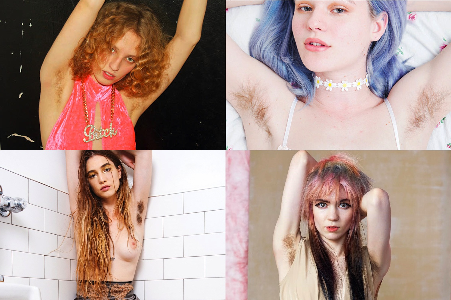 Images courtesy of Petra Collins, Arvida Byström, Richard Kern and Roe Ethridge