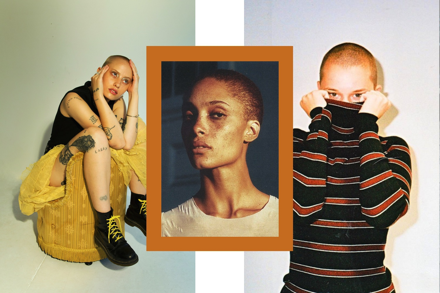 Images courtesy of @Alana Derksen, Adwoa Aboah (photo by Paul Maffi) @alexisjadegross