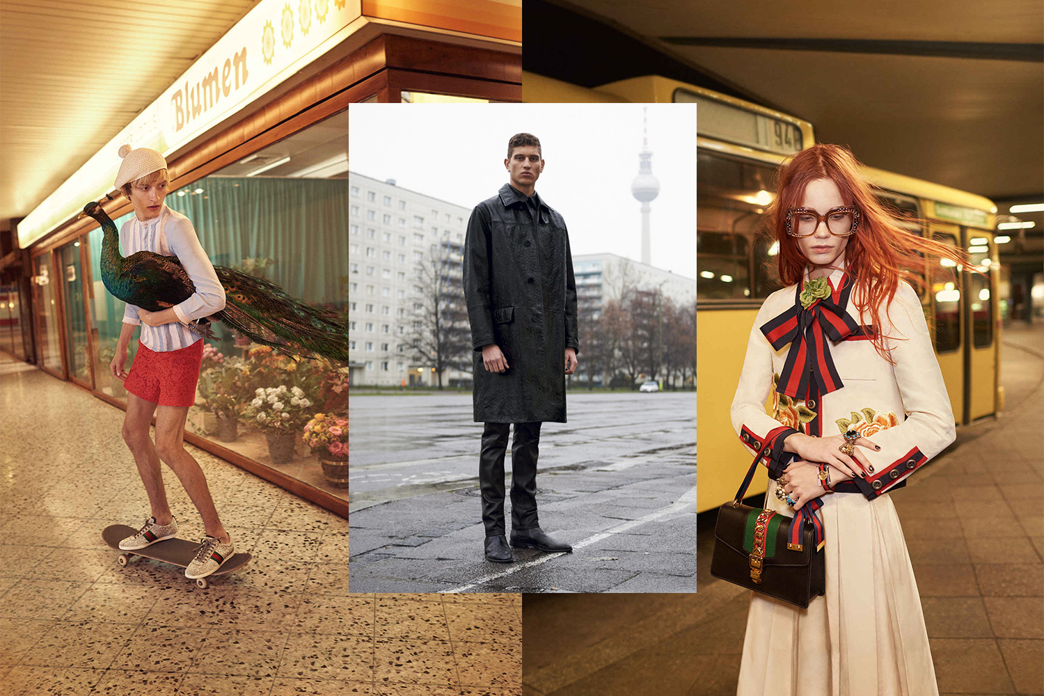Campaign, Gucci, Givenchy, Berlin 2016