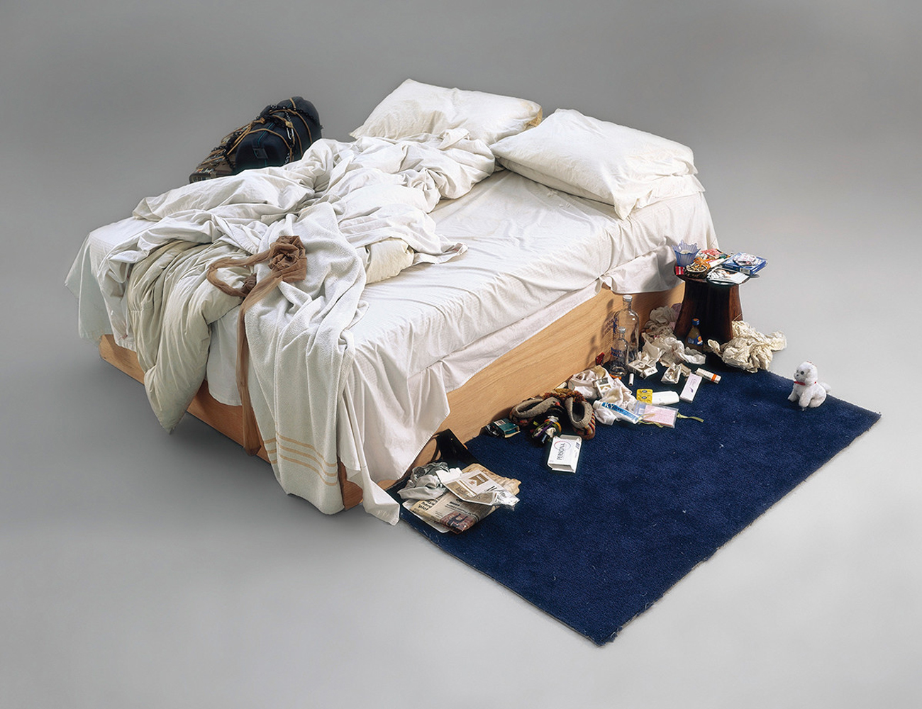 "Tracey Emin ""My Bed"". Image from royalacademy.org.uk"