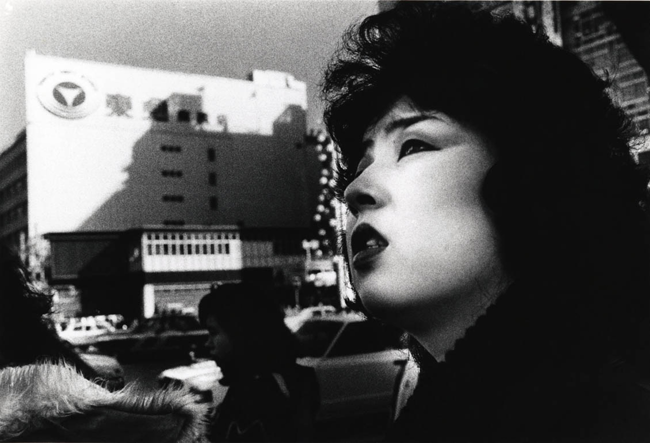 Tokyo, 1978. Image from loeildelaphotographie.com