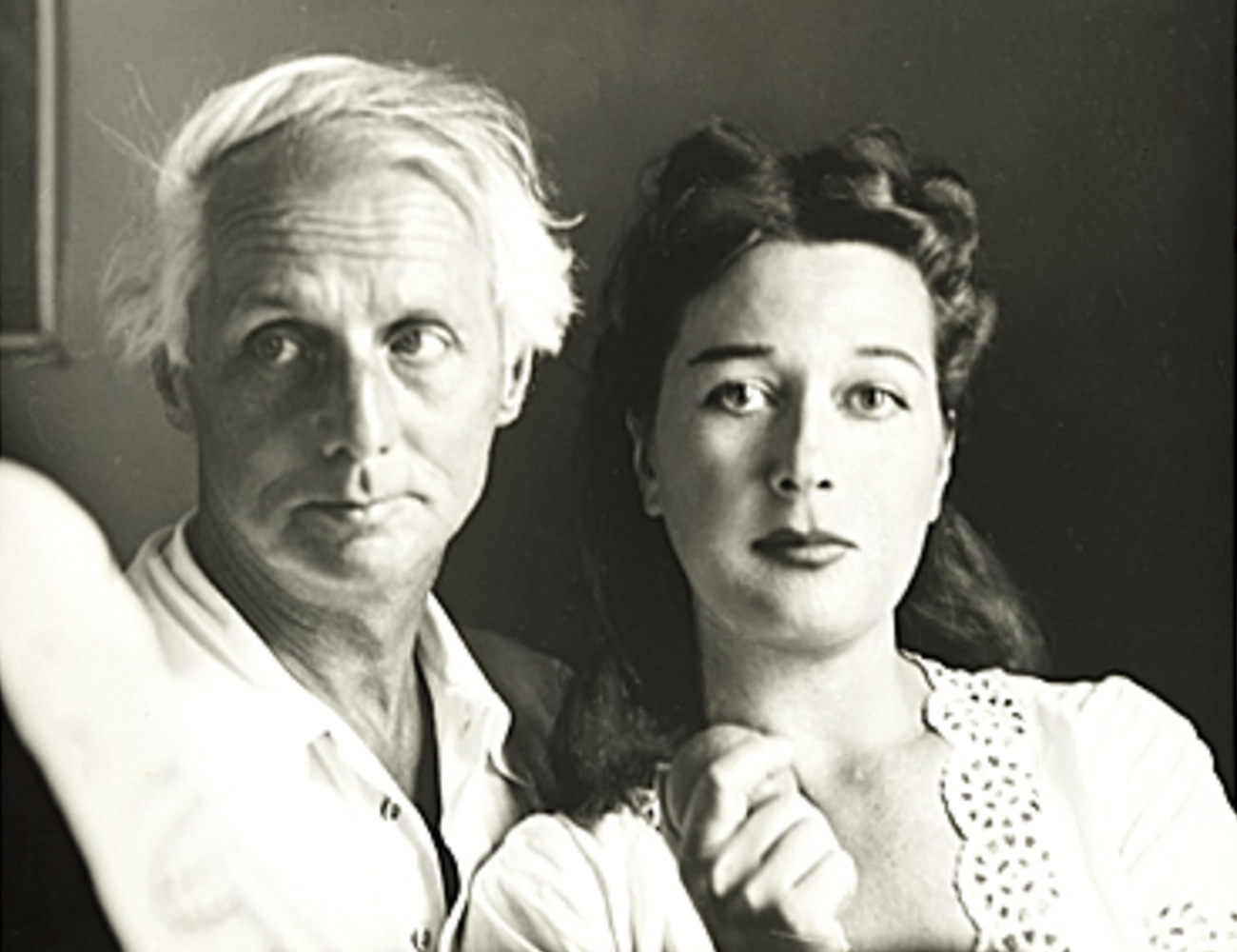 Dorothea Tanning and Max Ernst. Image from artfixdaily.com