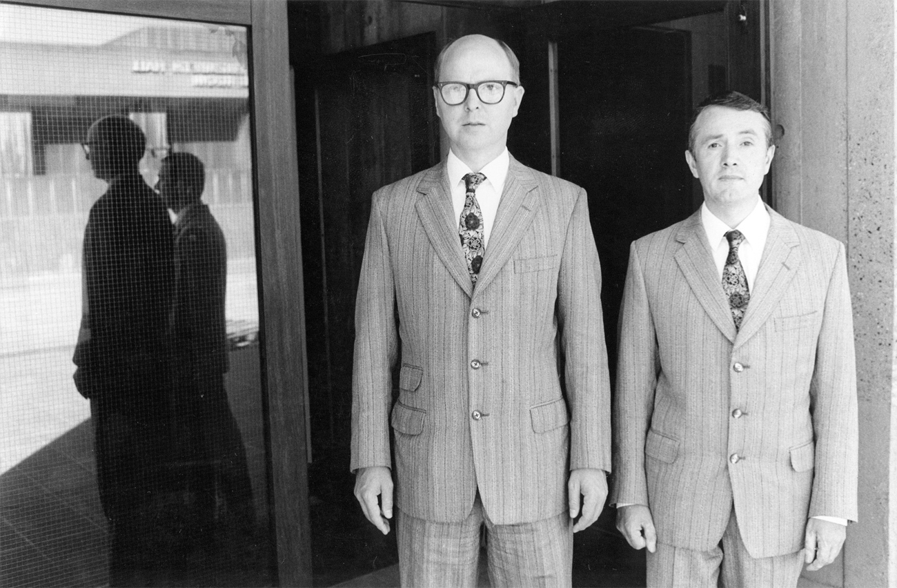 Gilbert Proesch and George Passmore. Image from theredlist.com