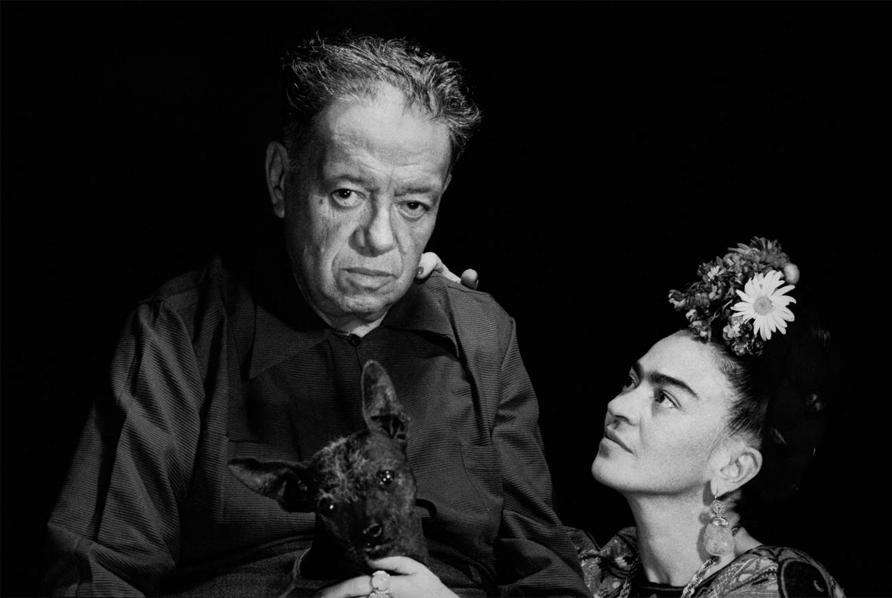 Diego Rivera and Frida Kahlo. Image from lens.blogs.nytimes.com
