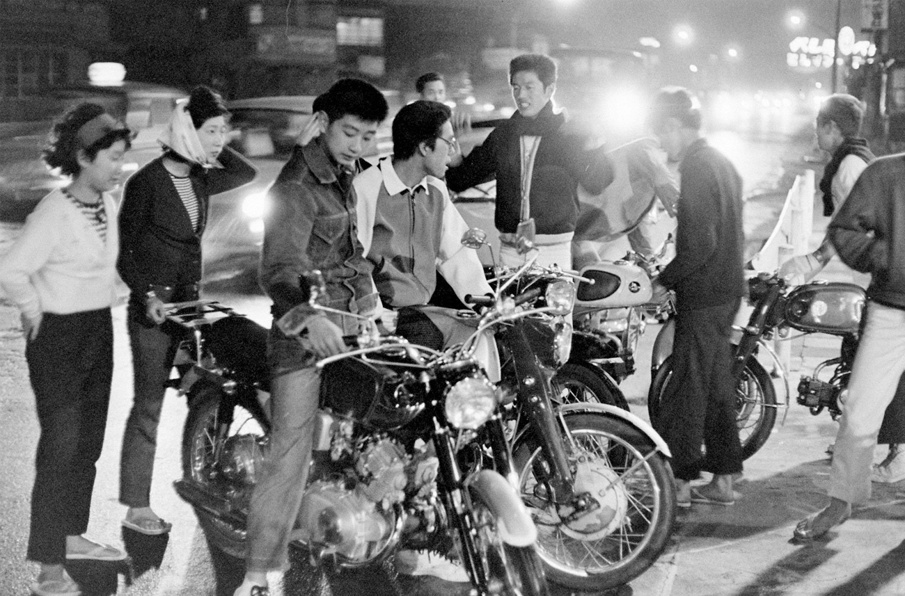 Teenage Wasteland: Portraits of Japanese Youth in Revolt, 1964 by Michael Rougier. Image from time.com