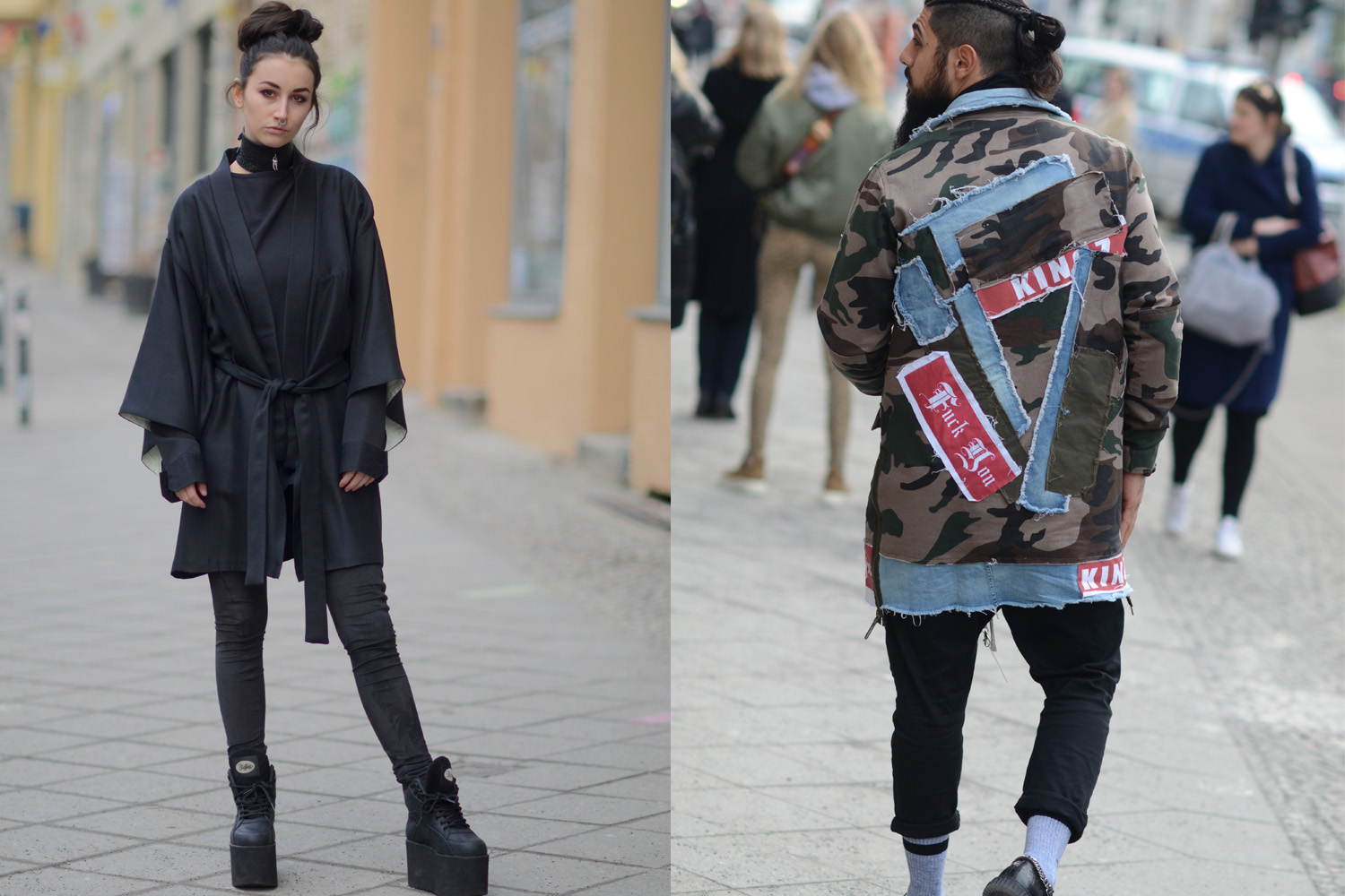Our Favourite Street Style From Berlin Fashion Week Aw17