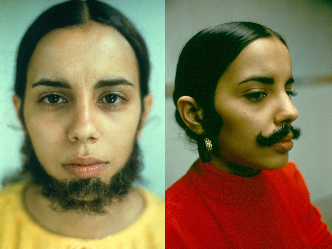 facial hair ana mendieta