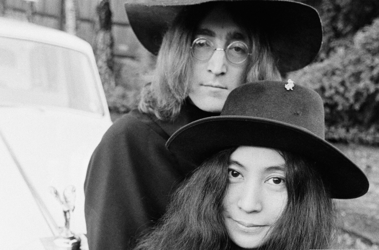 John Lennon and Yoko Ono. Image from huffingtonpost.com