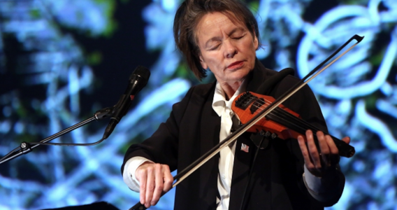 Laurie Anderson at Transmediale