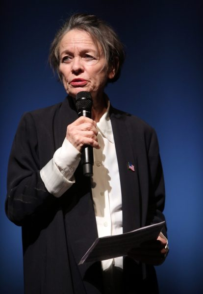Laurie Anderson at Tranmediale