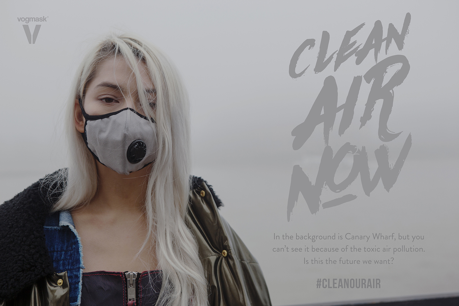 Clean Air Now Billboard featuring Vogmask
