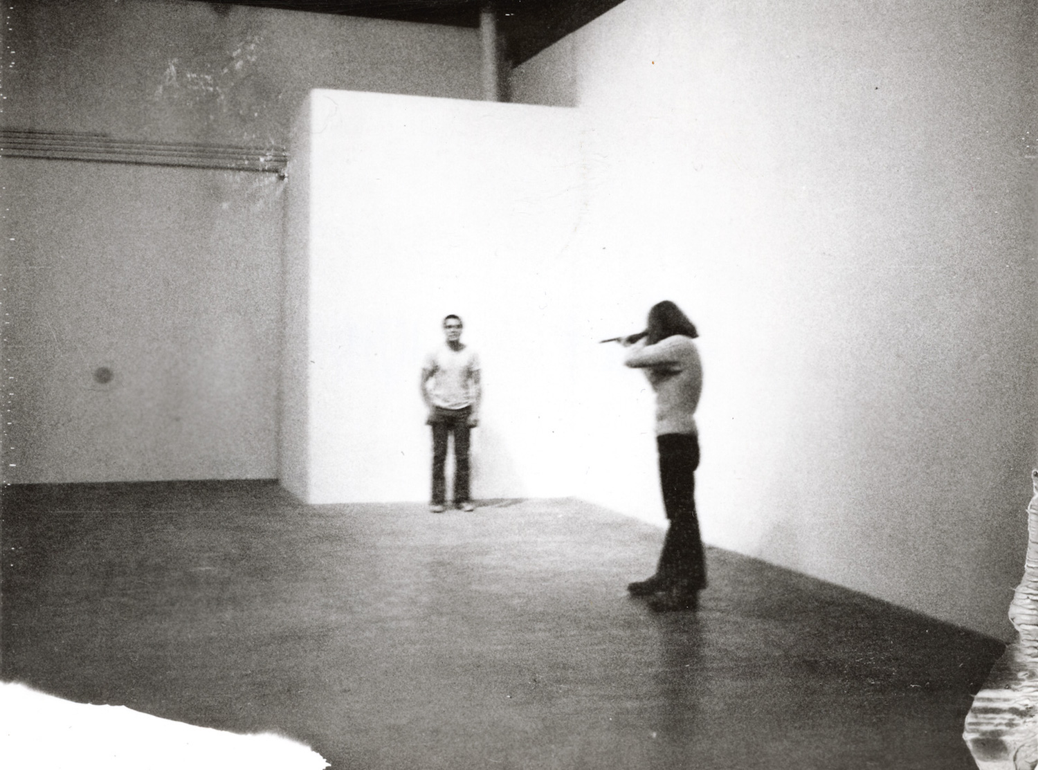 Chris Burden - Shoot. Via veniceperformanceart.com
