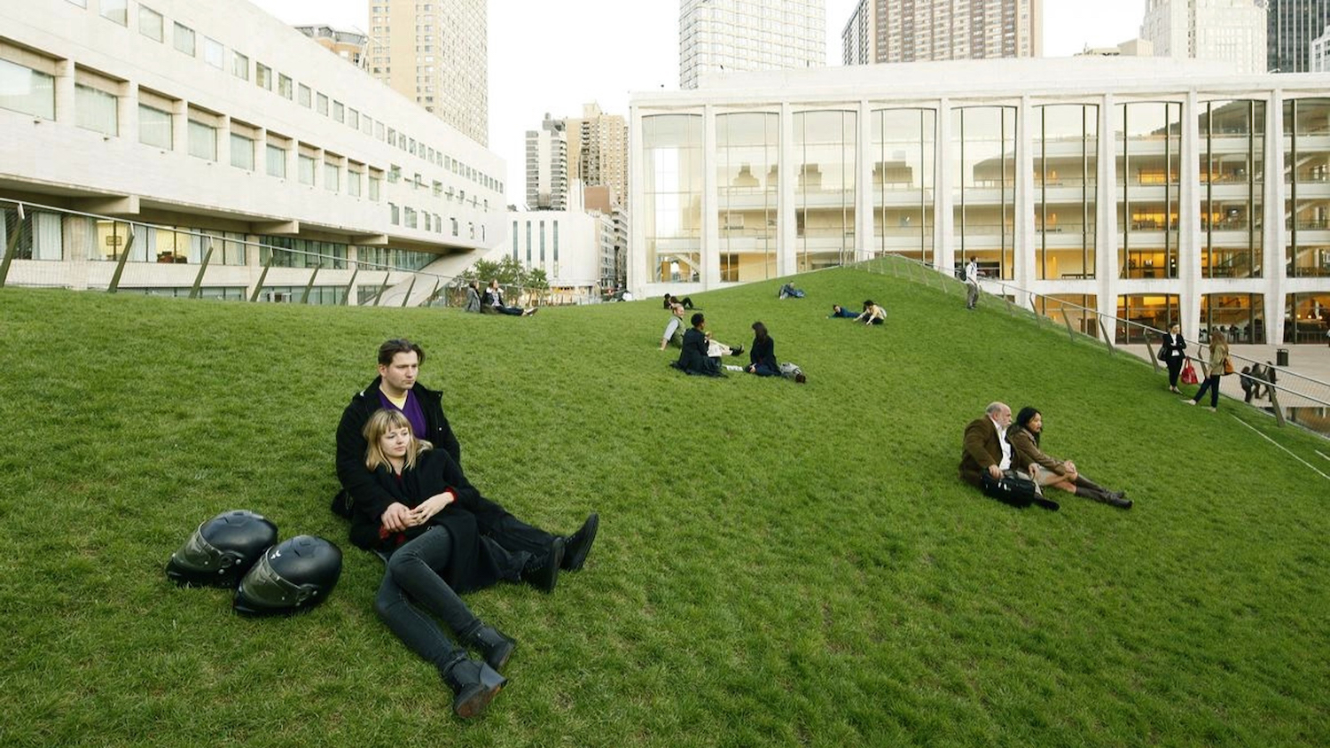 Hypar Pavilion Lawn in New York