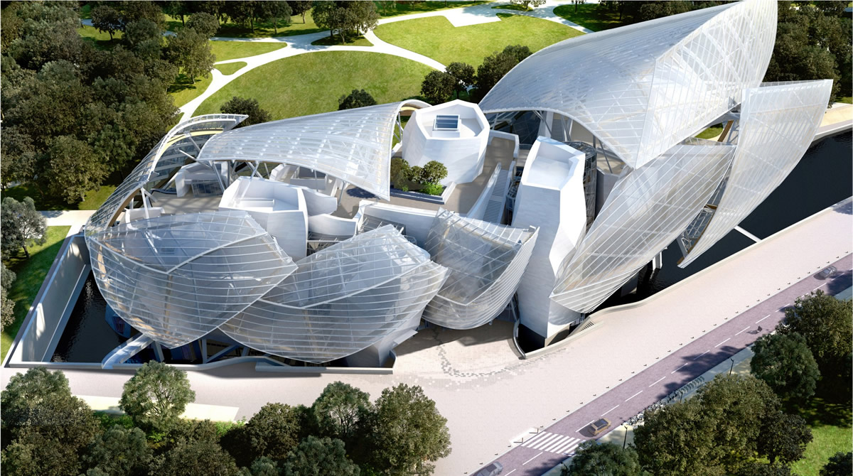 Louis Vuitton Foundation in Pari