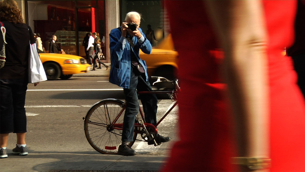 Bill Cunningham. Image from nytimes.com