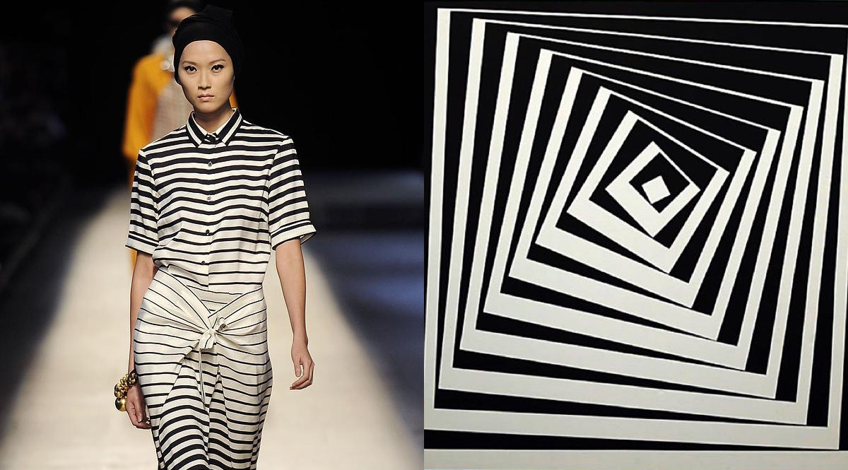 Dries Van Noten, Victor Vasarely