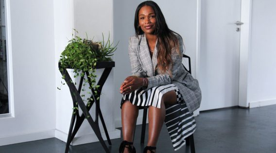 Sharmadean Reid Founder of WAHNAILS