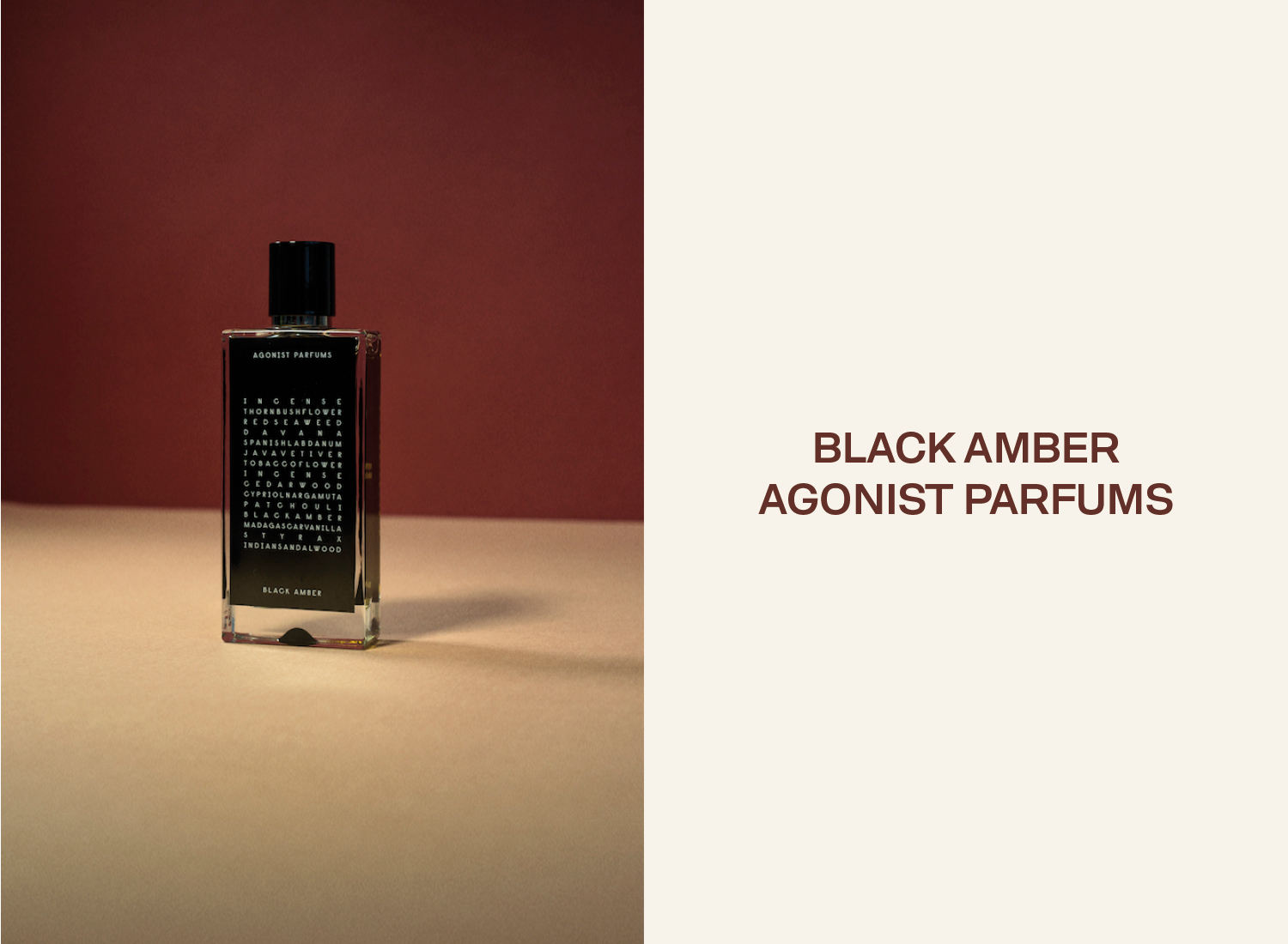 Sleek Perfume Story: Agonist Parfums