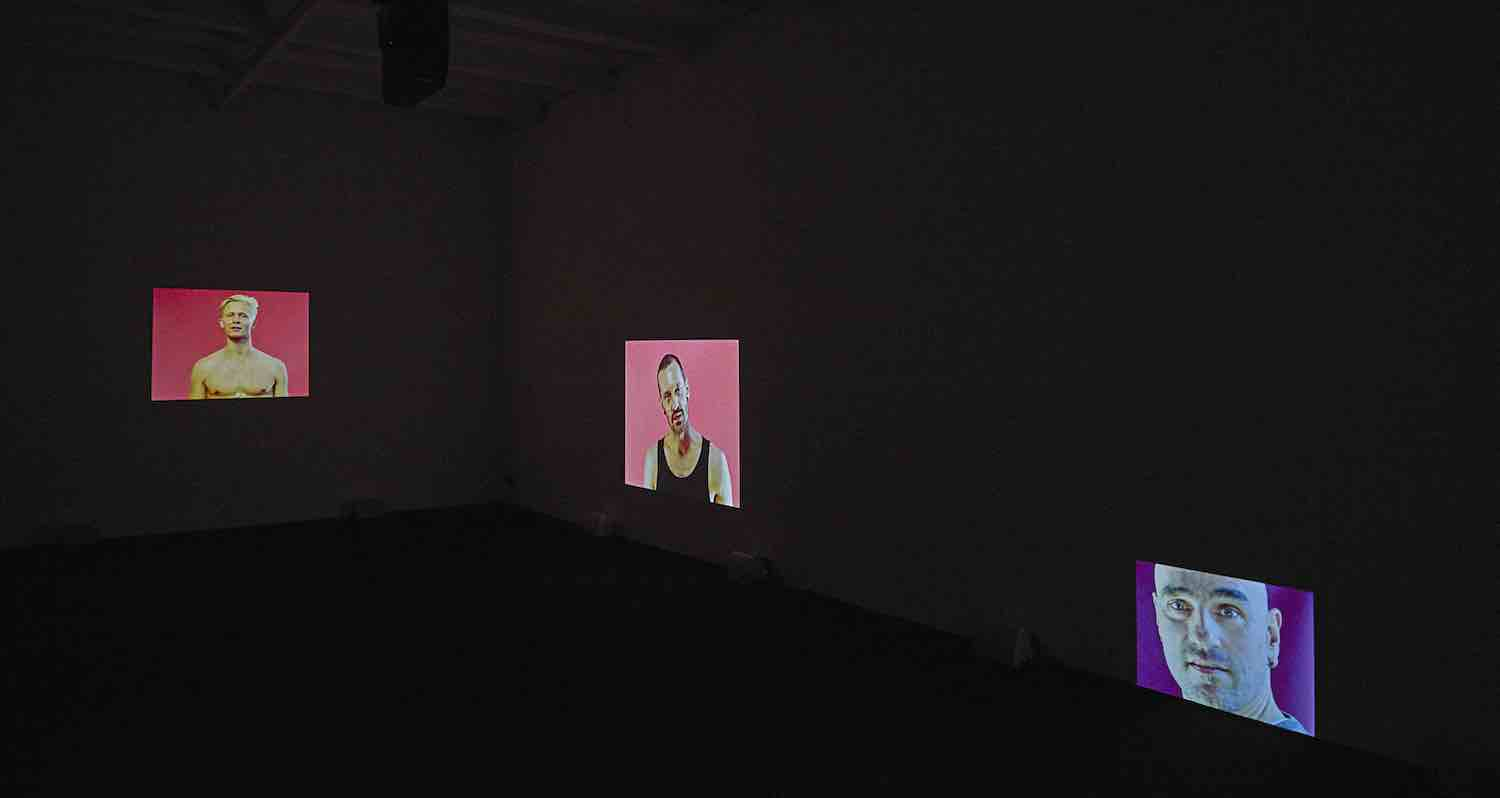 """Dara Friedman """"Dichter"""", 2017. Installation view. Image: Courtesy of the artist and Supportico Lopez"""